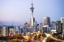 新西兰天空塔|南半球最接近天空的地方 每个城市都有一个独特的制高点。对于新西兰的门户—奥克兰这个城市