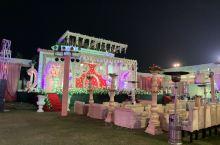 印度婚礼在晚上