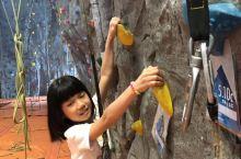 温哥华Richmond的奥林匹克体育馆,第一次尝试攀岩
