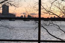 科学博物馆,坐落在查尔斯河旁边,河对面便是波士顿,可以清楚的看到约翰汉考克大厦。我是下午接近傍晚去进