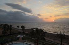阳光海岸的日出