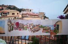 意大利的西西里岛美丽的陶尔米纳/众神的居所阿格利真托/火山下的城市卡塔尼亚