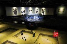 杭州湘湖旅游之跨湖桥遗址博物馆  我和娃是从湘湖老虎洞游船处乘坐画舫到达博物馆的,跨湖桥遗址博物馆外
