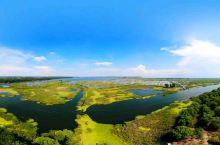 沙湖国家湿地公园•沙湖水色竞如天