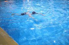 钟山宾馆泳池,水很干净,很不错