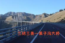 新疆第一高桥,第一斜拉桥,国内第一座公路双塔双索面钢桁梁斜拉桥。只能车游,多希望能俯视仰视它。
