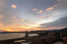 兰卡威落日 海岛 天空之桥