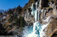 28号的冬季官鹅沟,徒步十个小时,30km取得的官鹅沟冬景。