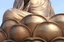 敦化六鼎山金鼎大佛的第二层观景台