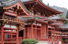 仿古的建筑模式,很大规模的一处日本庙宇