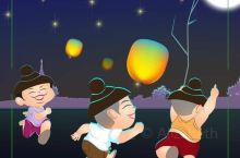 缅甸的点灯节(Lighting Lantern Day) 在缅甸佛教的国度里,泼水节与点灯节是著名的