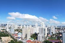 巴拿马出差,32层住处拍摄