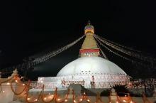 尼泊尔,转塔。