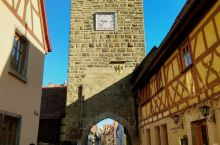 """德国著名""""童话小镇""""–罗滕堡"""