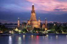 #2019年必打卡# 郑王庙(Wat Arun),位于泰国湄南河西岸的双子都市吞武里城,始建于大城王