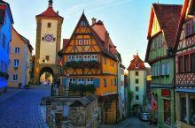 巴伐利亚中世纪童话小镇——罗腾堡