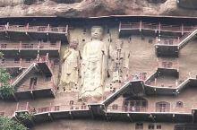 麦积山石窟,位于天水,是中国四大石窟之一。比敦煌莫高窟更能亲密接触,佛像惟妙惟肖。