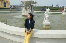 内蒙古的喷泉