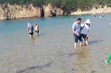 清澈的海水,细软的沙滩,真得太美啦