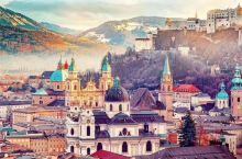 捷克奥地利很美啊!!?