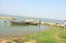 巢湖,岸边都是附近的渔民在卖小虾小鱼,可新鲜的。