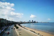 孟买的海滨大道