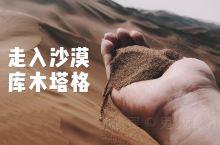 走入库木塔格沙漠