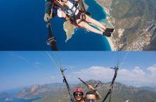 费特希耶| 1500m高空☀️上帝视角的地中海🌊  Fethiye,土耳其🇹🇷的地中海小镇,全球著名