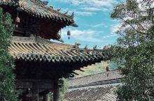 """行途偶遇 560的年前的""""深山王宫""""平武报恩寺 在当时的明朝正统年间一度被认为是僭越之物 11月自驾"""