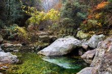 金刚台国家地质公园西河风景区的绿色,越来越失去它应有的色彩。这个充满着激情与悲情交织的秋,也渐渐落幕