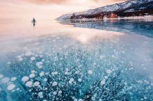 """在零下38℃的贝加尔湖看蓝冰是一种什么体验  贝加尔湖最惊艳的""""蓝冰季""""就要来了!欣赏蓝冰、冰裂纹、"""