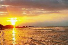 手机随拍-夕阳下的盈滨半岛好美啊