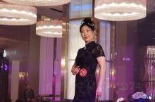 阳江首届旗袍秀比赛。