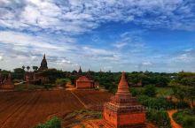 蒲甘·曼德勒省  一次不完美的蒲甘日出,依然难忘 还记得某天凌晨四点起床看 想象在缅甸蒲甘看日出多浪