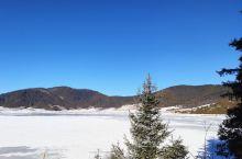 冬季的普达措属都湖又是另外一番美景,湖面也已经结冰了。我喜欢拍一些唯美的照片,所以我觉得这里很适合我