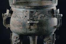 【淳化大鼎】西周早期,约公元前11世纪,高122cm   口径83cm,重226kg,青铜,淳化县石