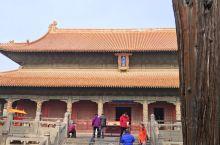 美丽的孔府,儒家文化的发源地。东方三大殿的大成殿。