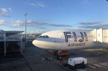 来到斐济的楠迪机场,天空一片晴好! 斐济·大洋洲