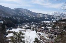 白川乡的远眺,有历史感的小乡村。