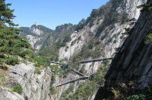 天堂寨风景区:横跨两省的景区。
