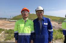 在马来西亚马六甲天然气发电厂工地