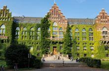 Lund University 是瑞典最古老的大学之一。小镇也是围绕着大学设置的。校园上安静平和,很