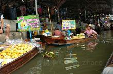 泰国打卡游览,丹嫩沙多水上市场