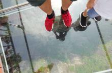 玻璃桥,丹霞地貌,好玩