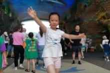 珠海长隆海洋王国,孩子的世界,在游玩的时候增加了知识。只是里面像迪士尼一样有饮用水就好了。
