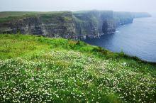爱尔兰的莫赫悬崖是一个非常著名的景点,欧洲最高的悬崖214米。Y型结构,一般先往右游览,欣赏左边的悬