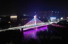 禹州颖河的几座桥在夜里还是很好看的!