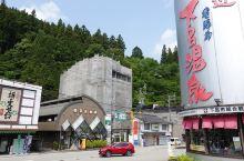 【带妈旅行之日本古早温泉遇到上海老板娘】山形屋在下吕温泉。我带着妈妈从名古屋中部机场下飞机就坐JR去