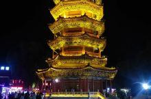 滦州古城的夜色