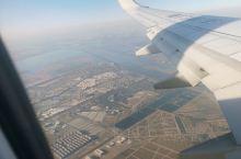 空中看天津,不知道是什么地方,湖心岛好美